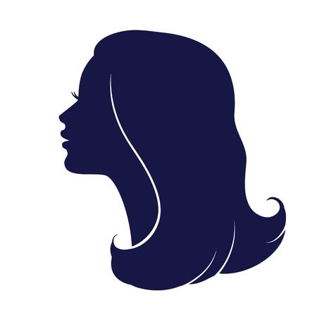 56,582 Woman Face Silhouette Cliparts, Stock Vector And Royalty Free.