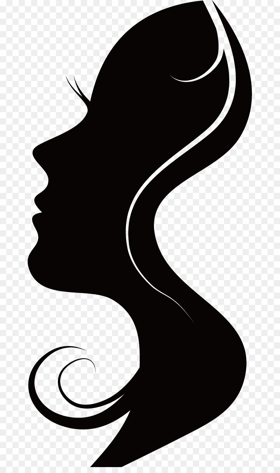 Woman Face png download.