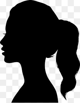 Woman Silhouettes PNG Images.