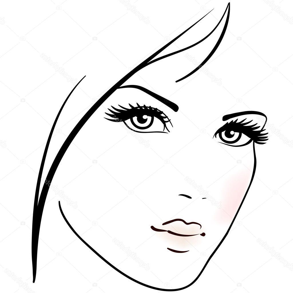 HD Woman Face Vector Png Pictures » Free Vector Art, Images.
