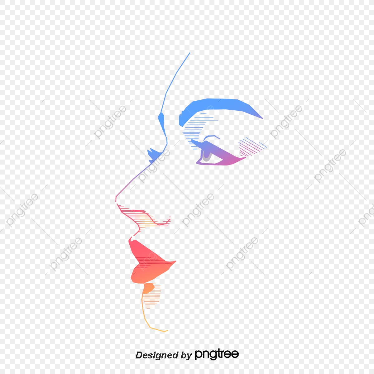 The Face Of A Vector Woman, Face Vector, Woman Vector, Face PNG and.