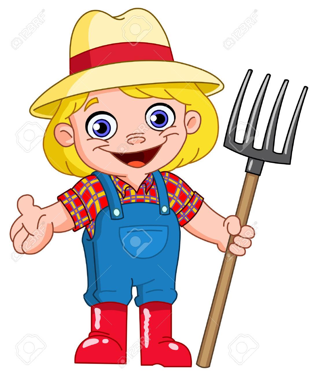 Farmer Clipart Woman.