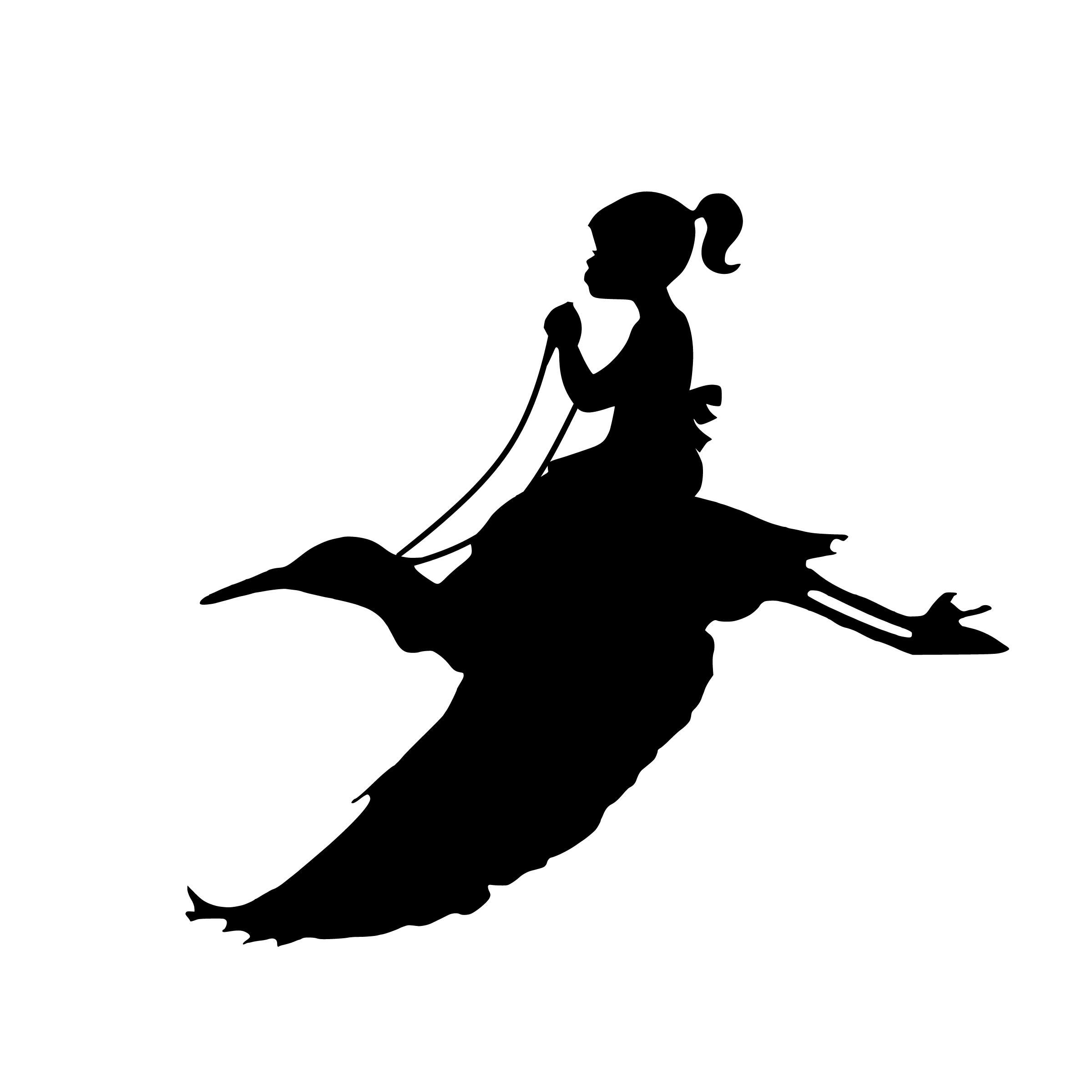 Free Images : flying, girl, bird, riding, dream, design.