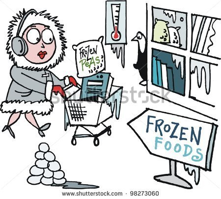 woman freezing indoors clipart - Clipground