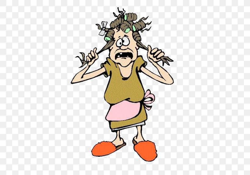 Clip Art Crazy Image Woman Cartoon, PNG, 442x575px, Woman.