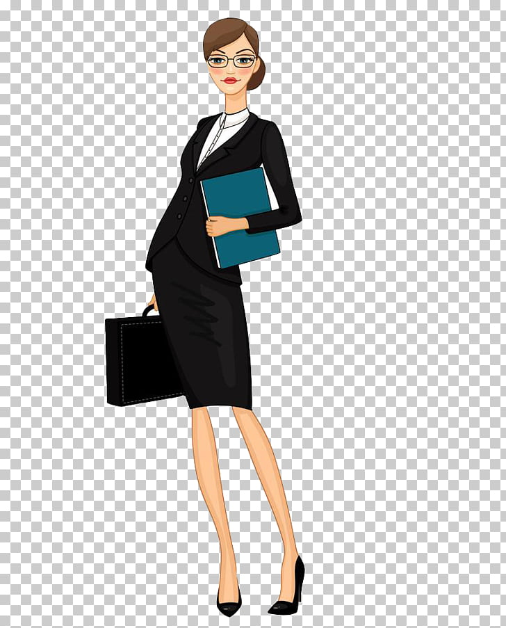 Businessperson , Work woman, office woman graphic.