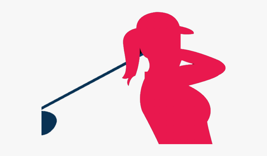 Women Golfer Clip Art , Transparent Cartoon, Free Cliparts.