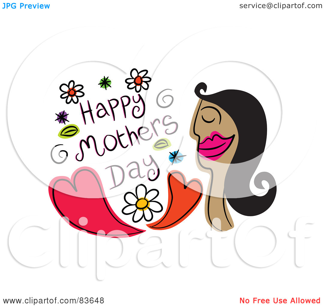 Woman Greeting Clipart.