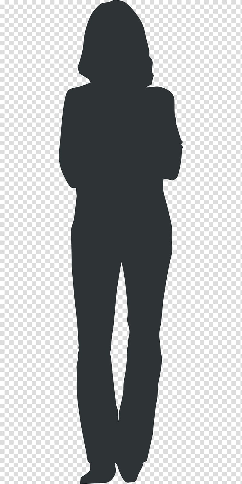 Woman Silhouette , WOMEN SUIT transparent background PNG.