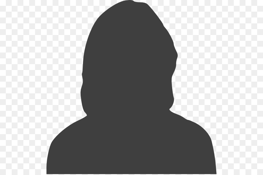Silhouette Female Woman Clip art.