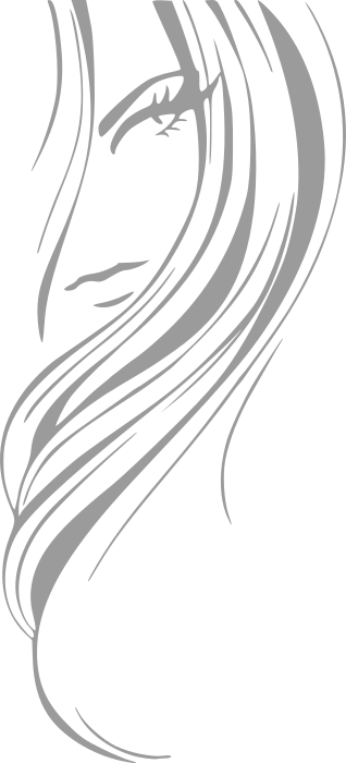 Woman Hair Clipart Black And White Clipground