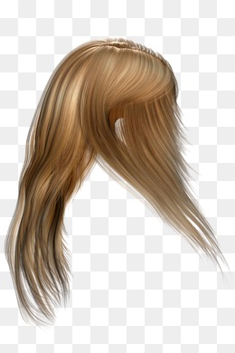 Woman Hair PNG Images.