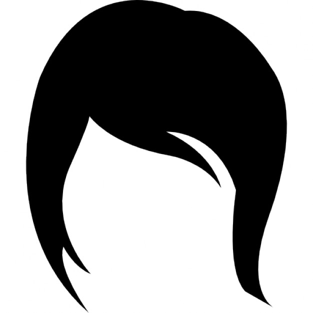 Female Hair Silhouette at GetDrawings.com.