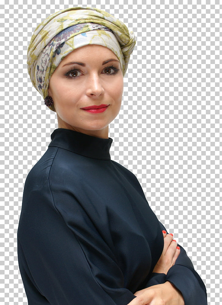 Turban Headscarf Hair loss Hat, hair PNG clipart.