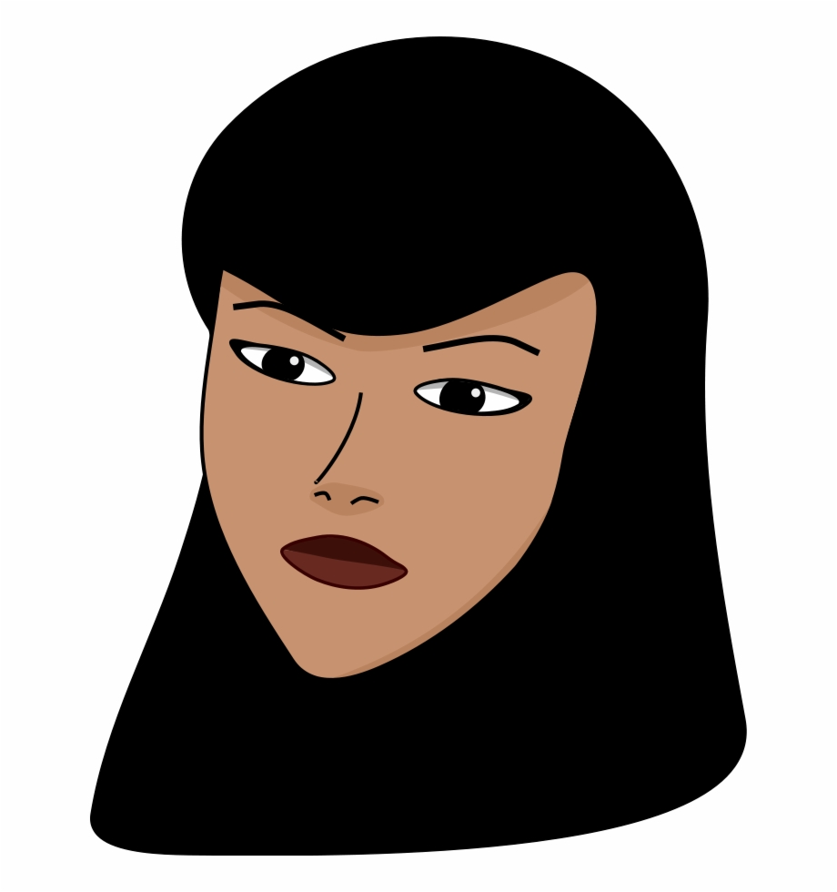 Woman Head Png Woman Muslim Clip Art.