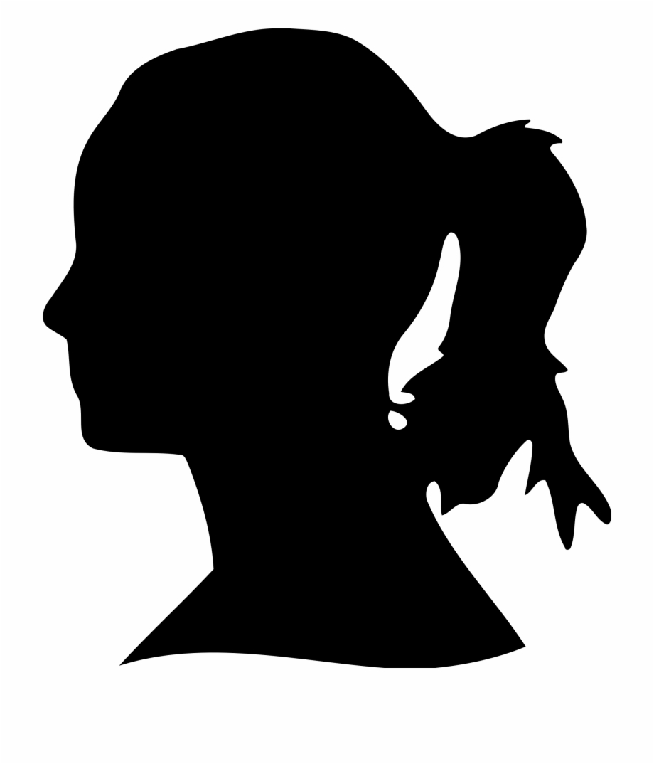 Woman Face Silhouette Clip Art 101 Clip Art.