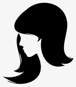 Woman Head Silhouette PNG Images.