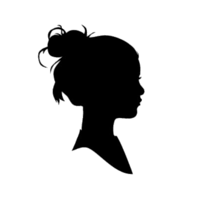 Silhouettes transparent PNG images.