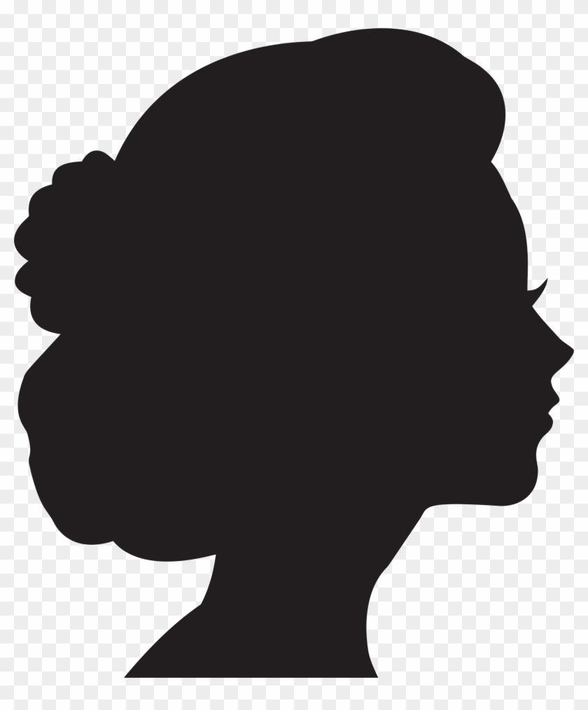 Silhouette Woman Head At Getdrawings.