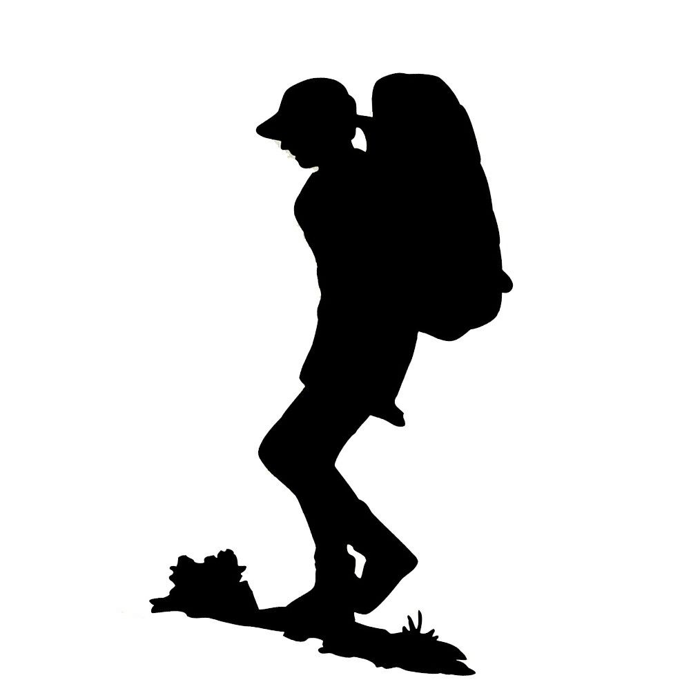 242 Hiker free clipart.