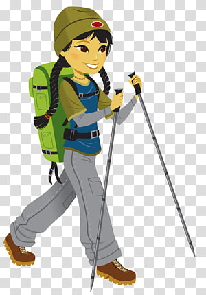 Hiking PNG clipart images free download.