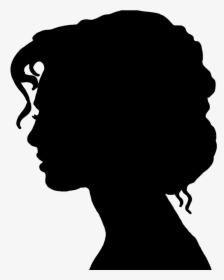 Silhouette Of A Woman.
