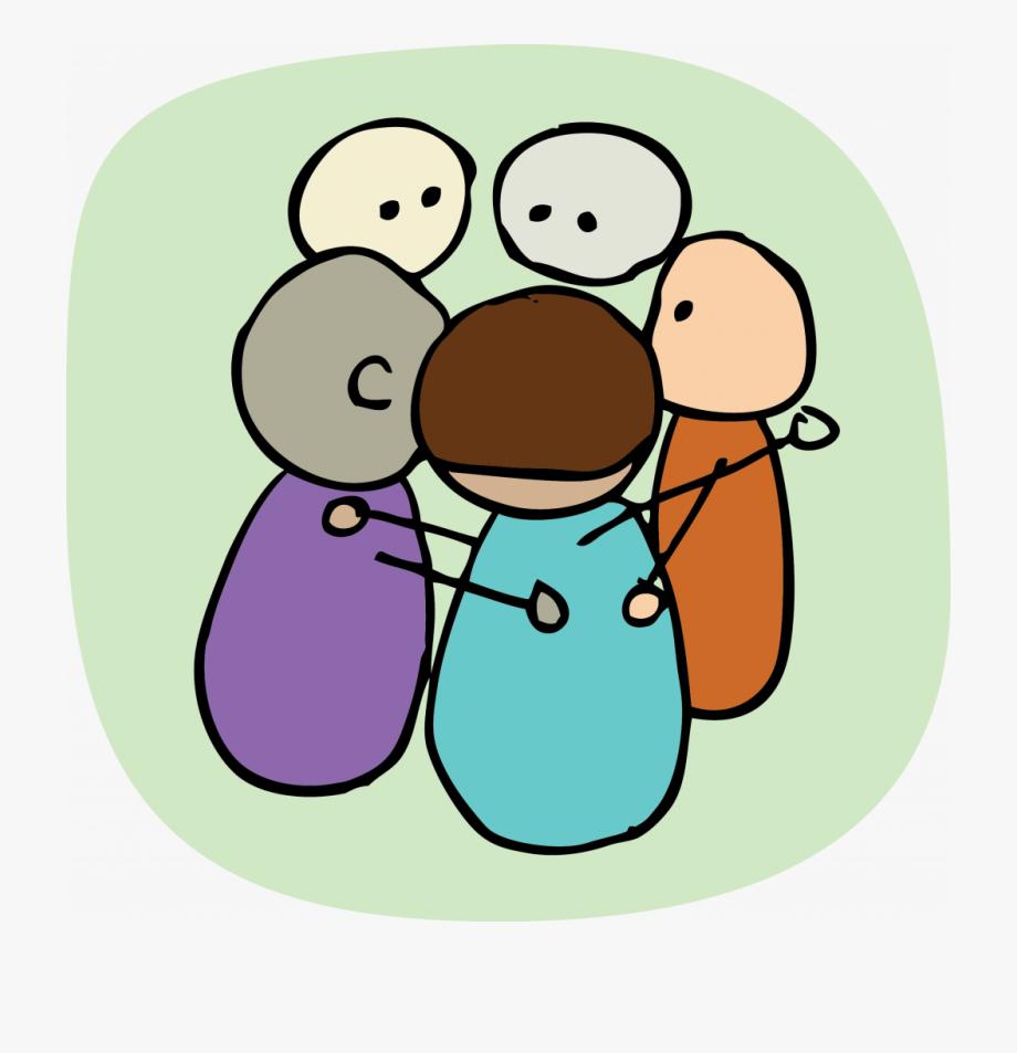 Group Huddles Clip Art , Transparent Cartoon, Free Cliparts.