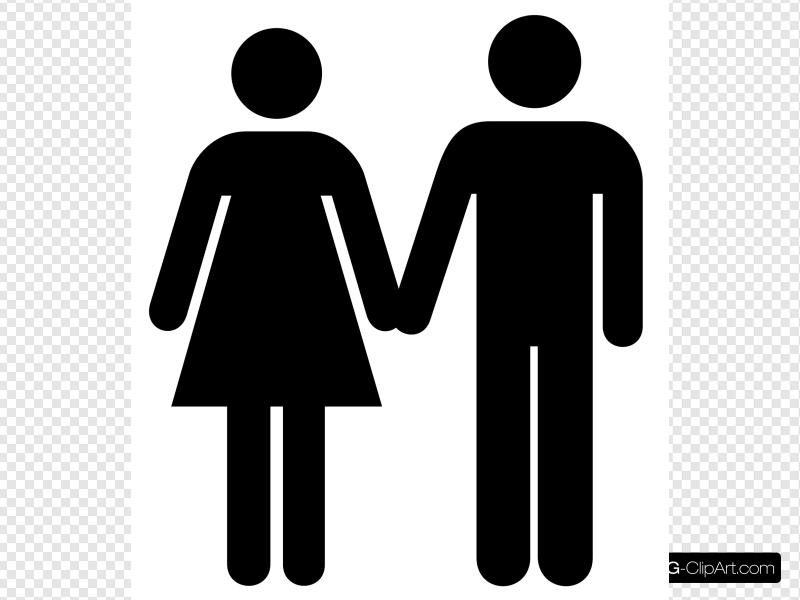Man And Woman Icon 2 Clip art, Icon and SVG.