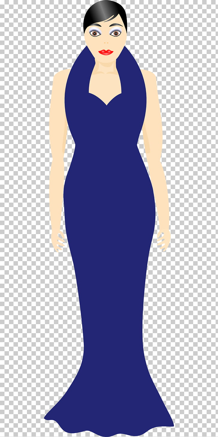 Dress Woman Gown Clothing , dress PNG clipart.