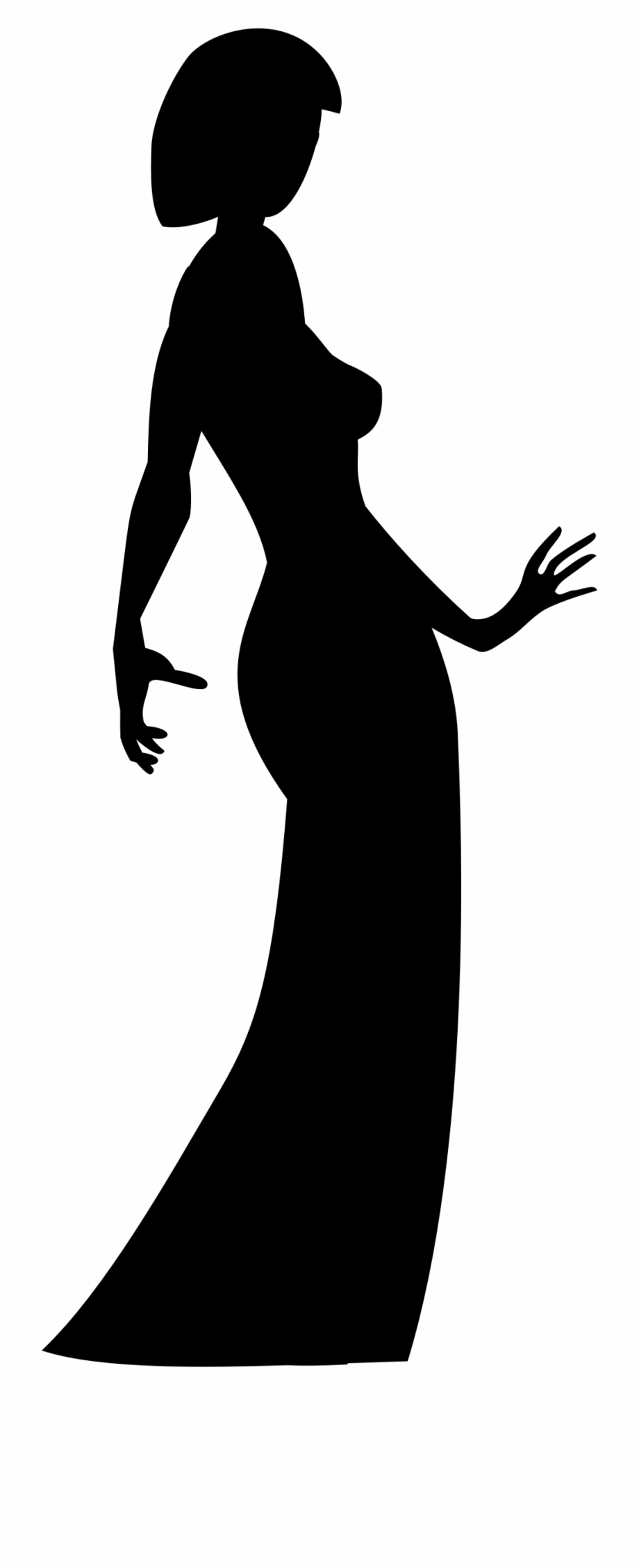 Clipart Free Download Clipart Woman In Dress Big Image.