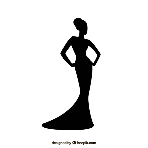 Woman Silhouettes Vectors, Photos and PSD files.