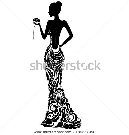 Ball Gown Stock Images, Royalty.
