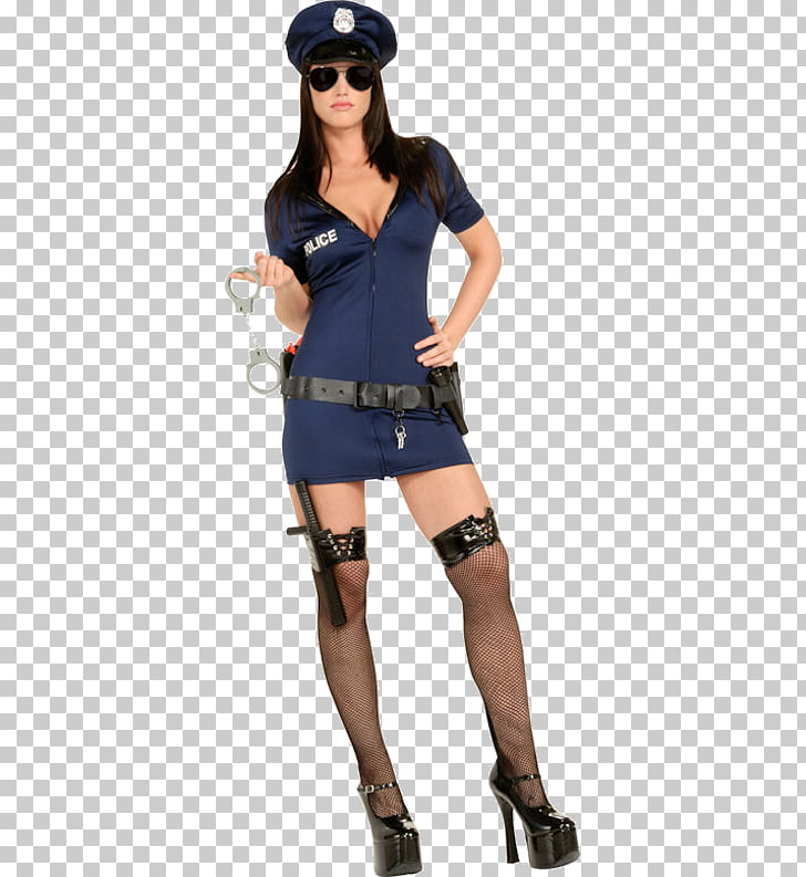 Police officer Woman Costume Handcuffs, Police PNG clipart.