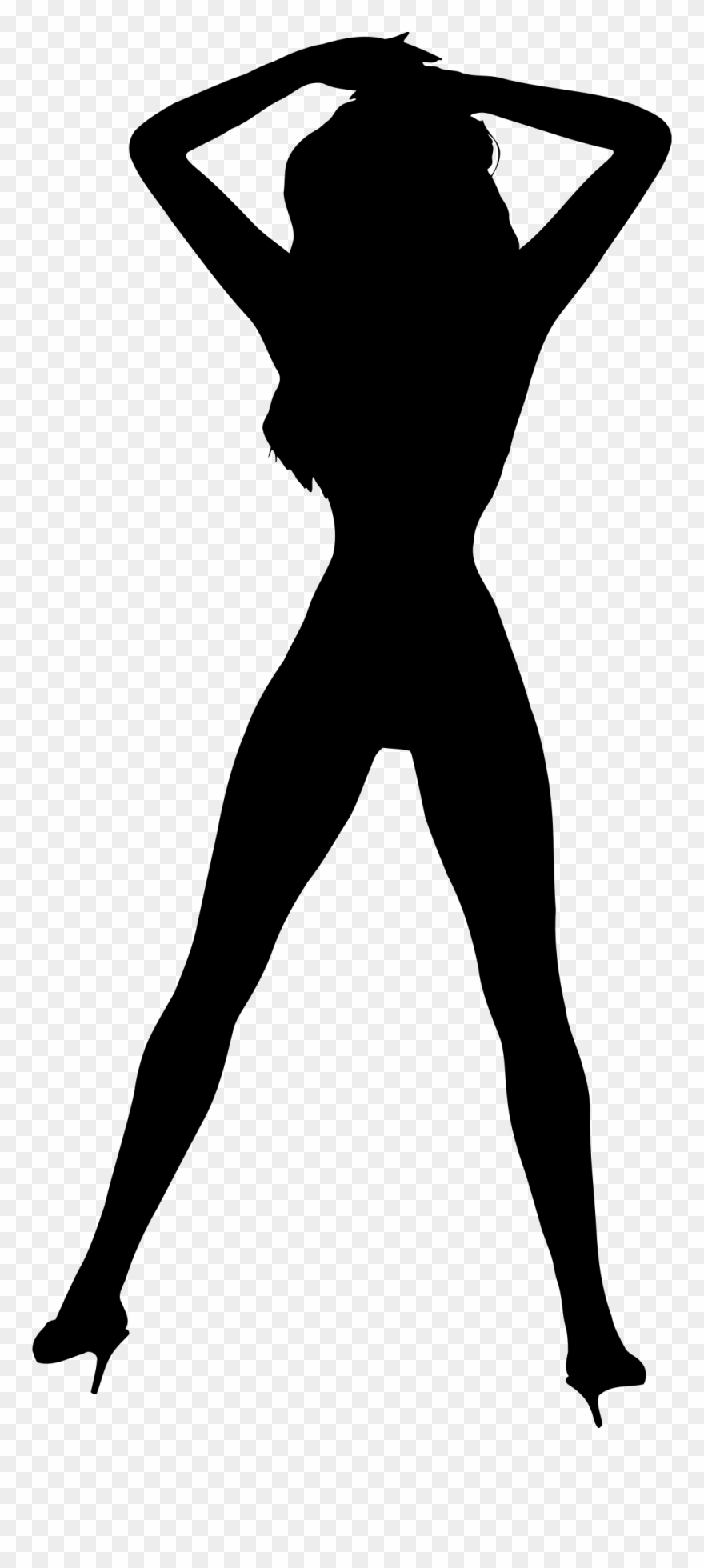 Women Silhouettes Vector Free Download.