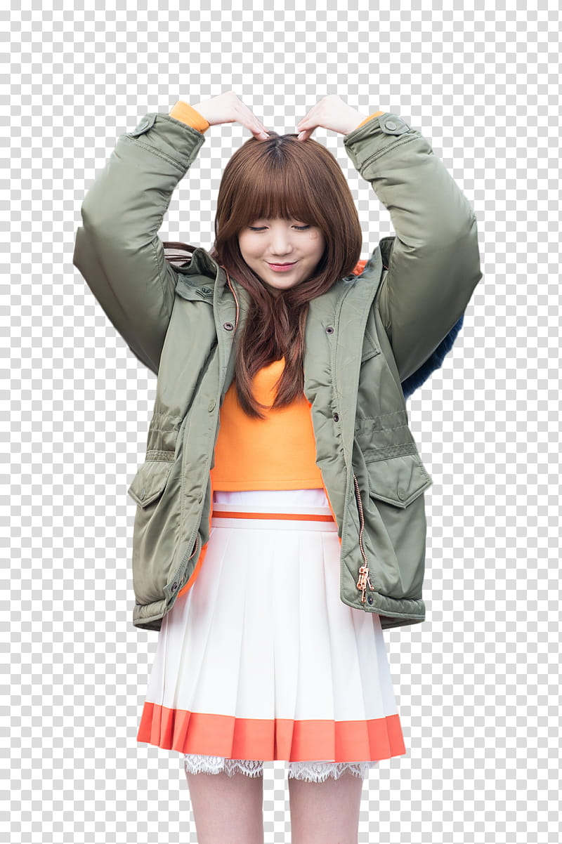 RENDER KEI JOY, women\'s grey jacket transparent background.