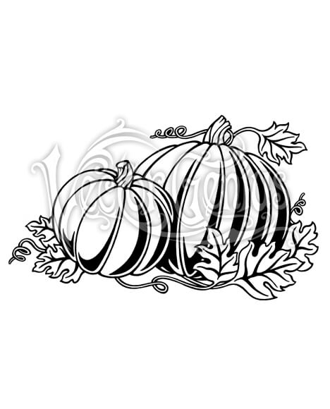 Fall Pumpkin Patch ClipArt.