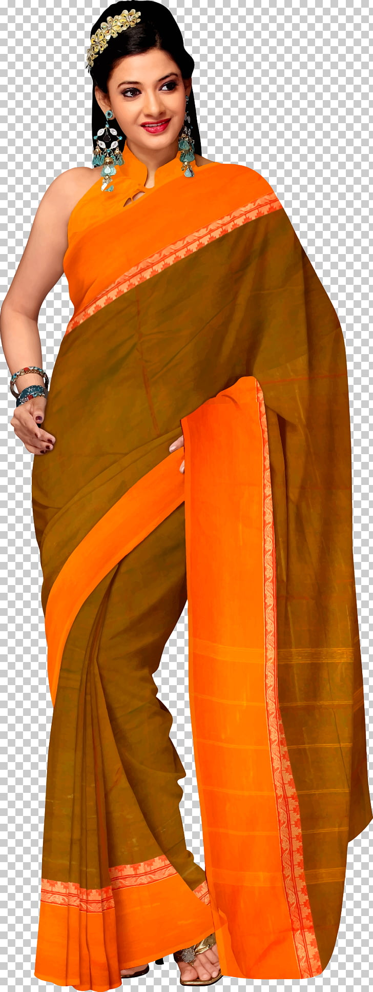 Sari Clothing Paithani Woman, woman PNG clipart.