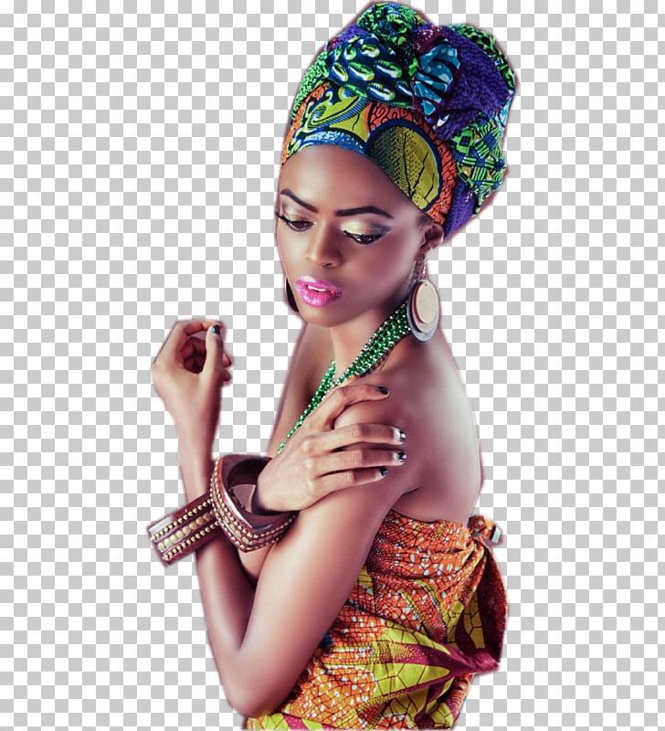 Turban, Latin woman PNG clipart.