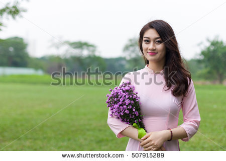 Vietnamese Woman Stock Photos, Royalty.