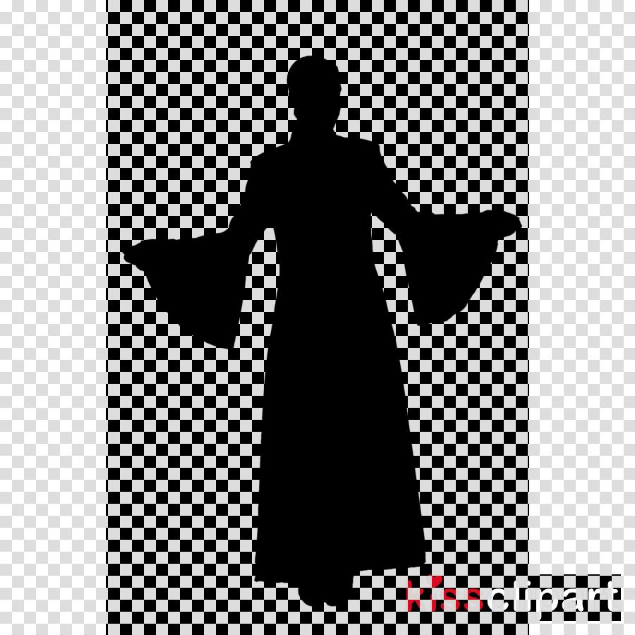woman clipart Robe Shoulder Dress clipart.