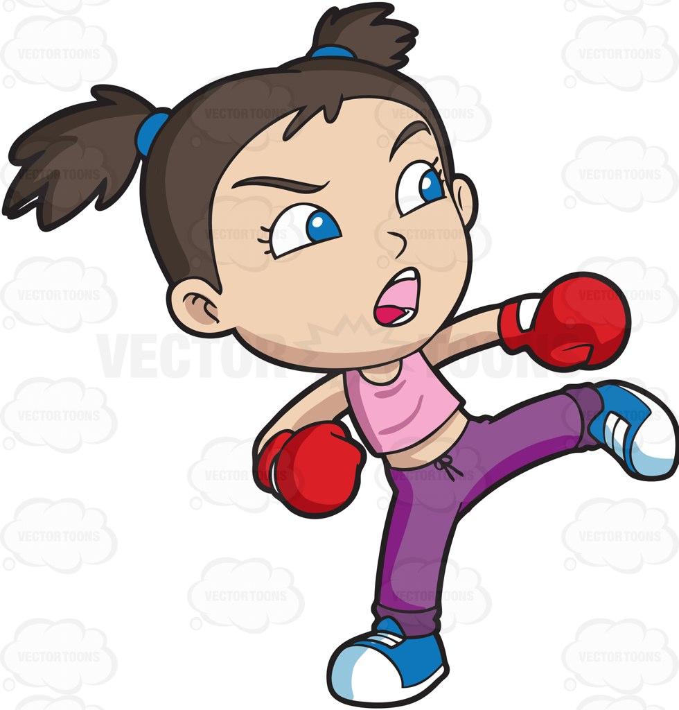 Kickbox Clipart.