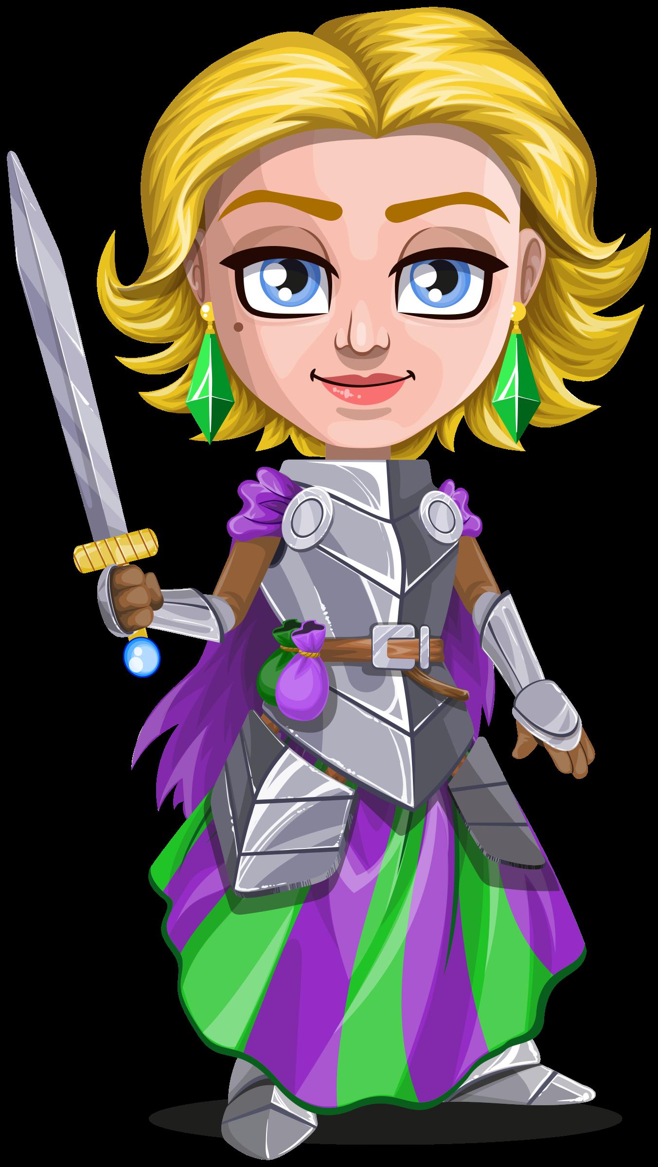 Clipart woman knight, Clipart woman knight Transparent FREE.
