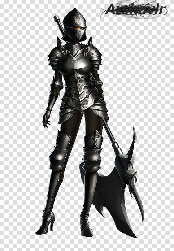 Knight Plate armour Female Middle Ages, Knight transparent.