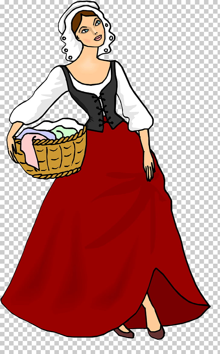Middle Ages Peasant Woman Knight , woman PNG clipart.