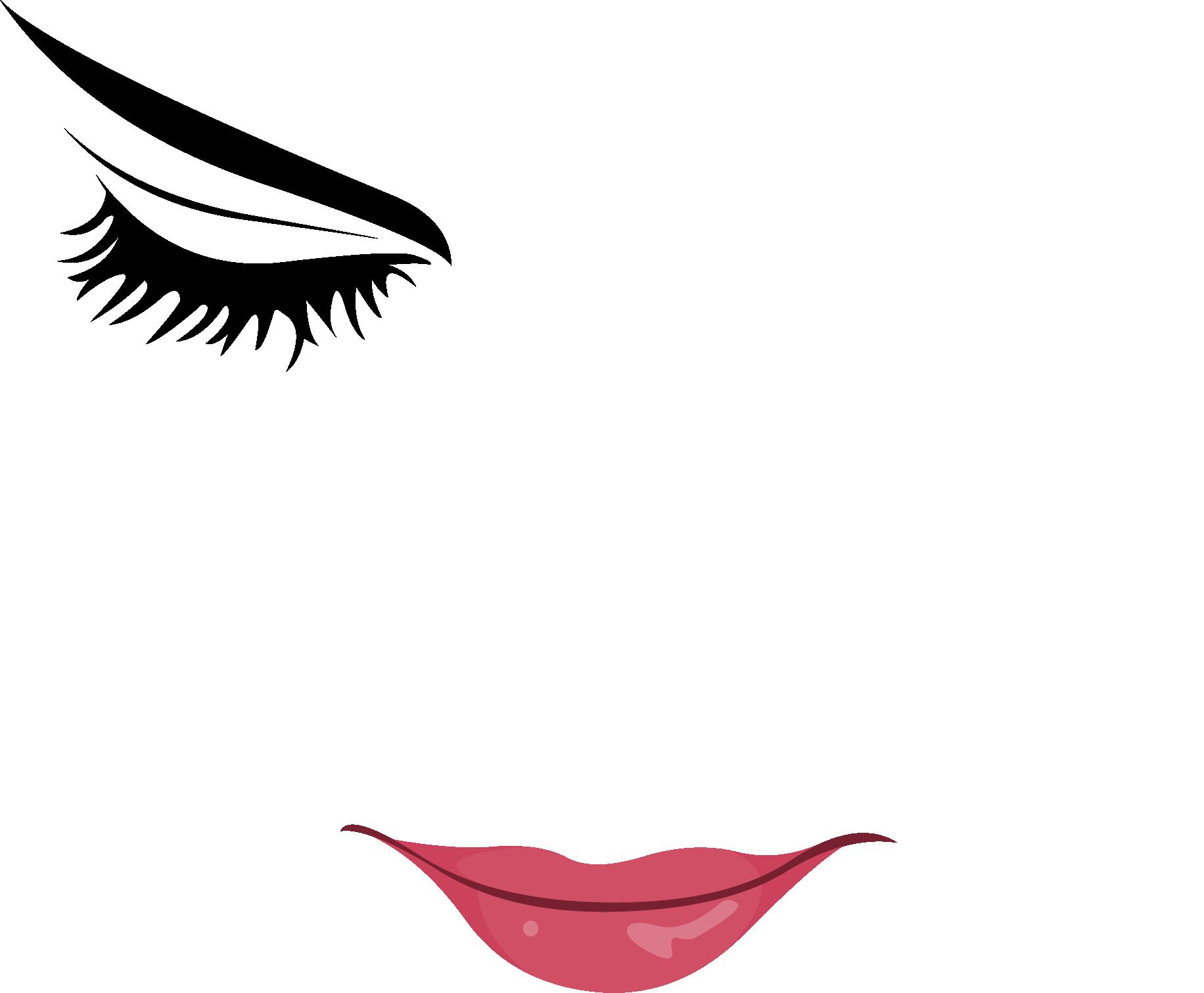 Eyelash clipart nose, Eyelash nose Transparent FREE for.