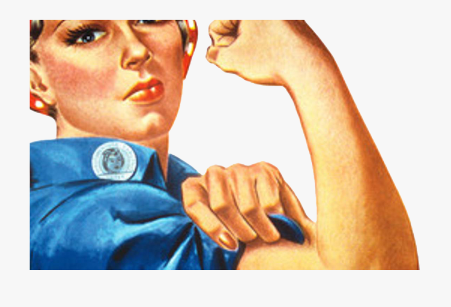 Strong Woman Folding Arms Png.