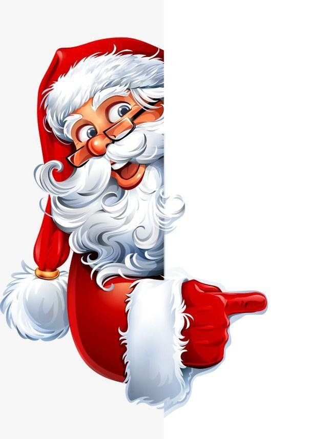 Image result for santa peeking around a door or window.