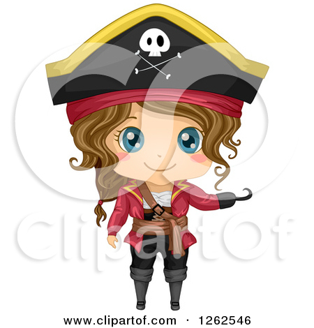 woman pirate clipart - Clipground