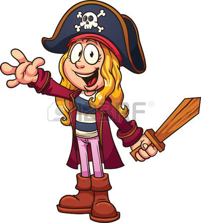 1,228 Pirate Girl Cliparts, Stock Vector And Royalty Free Pirate.