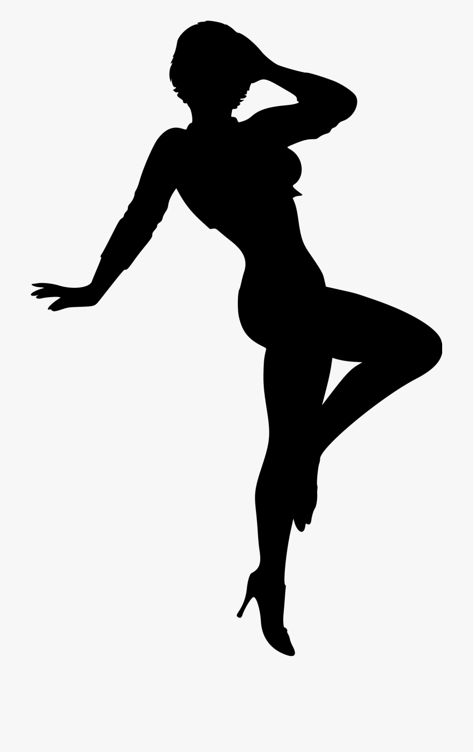 Female Silhouette Woman Clip Art.